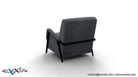 3d Furniture Turntable Rendering By Evexta  Hd Youtube