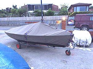 Wayfarer Dinghy Boat Cover by Wayfarer Dinghy Covers From Rainandsun