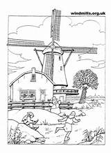 Coloring Windmills Windmill Holland Pages Printable Adult Adults Fun Google Patterns Wood Cool Windmolens Colouring Dutch Burning Sheets Books Farm sketch template
