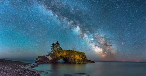 The Milky Way Hollow Rock Weather