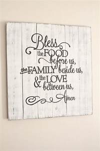25 best ideas about kitchen wall art on pinterest With kitchen colors with white cabinets with count your blessings wall art