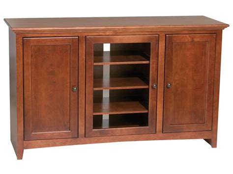 Bookcase And Media Console By Whittier Wood Furniture