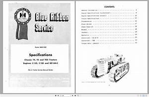 Case Ih Tractor Specifications And Adjustment Procedure
