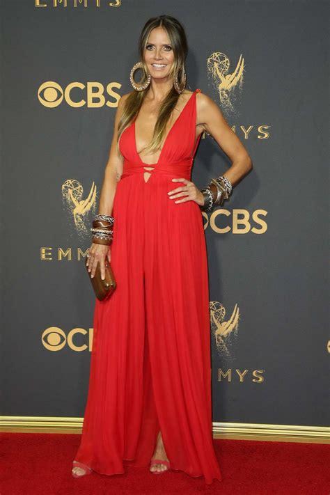 Heidi Klum Annual Primetime Emmy Awards Held