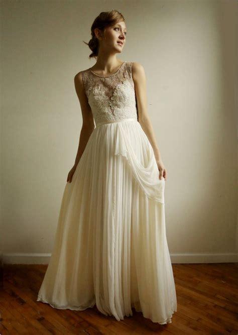 favorite illusion neckline wedding gowns of 2013 onewed