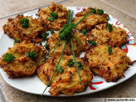 fleurs de ciboulette en cuisine galettes de légumes recette de cuisine