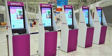 Peach Unveils Industry's First Cardboard Check-in Kiosks