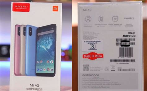 mi a2 retail box with made in india logo leaked ahead of launch on august 8 mysmartprice news
