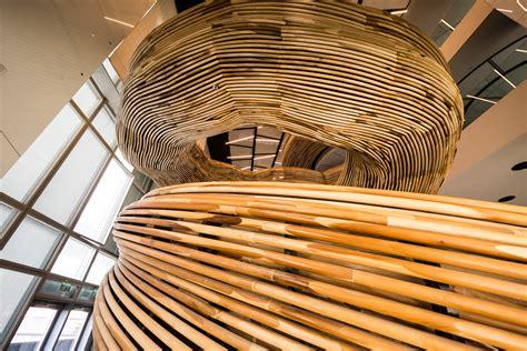 sculptural stair element   newest addition  tel