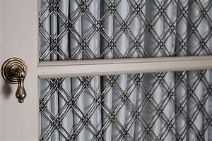 Grille Metal Decorative : decorative wire grille smallrooms ~ Melissatoandfro.com Idées de Décoration