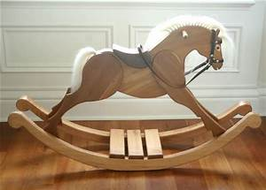 Rocking Horse Chair Pattern - WoodWorking Projects & Plans
