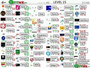 Bubble Answers And Solution Level 15 Tttwe Logo Quiz ...