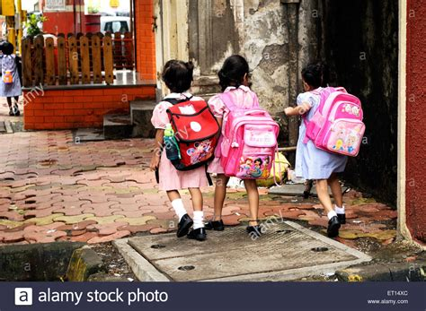 children going to school india stock royalty free 83619044 alamy