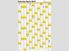 Feiertage 2019 Berlin + Kalender