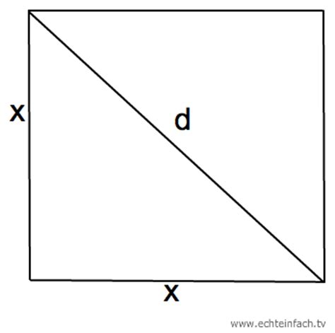 der satz des pythagoras berechnung der seiten  ueber die