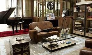 Style Deco Salon : deco salon style usine ~ Zukunftsfamilie.com Idées de Décoration