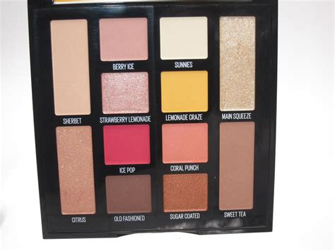 maybelline lemonade craze eyeshadow palette review
