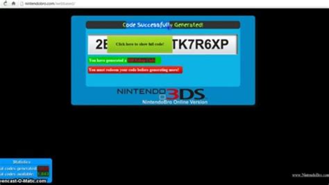 ds eshop card generator browser based  video