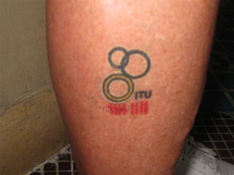 triathlon tattoo bragger