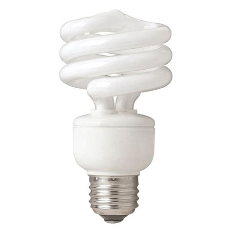 ecosmart 75w equivalent bright white spiral household cfl