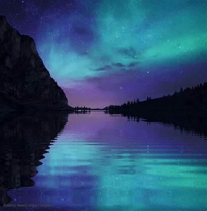 Ciel Paysage Nuit Etoile Nocturne Tranquility Landscapes