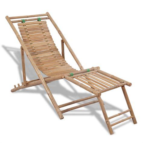 chaise bambou la boutique en ligne chaise de terasse en bambou avec