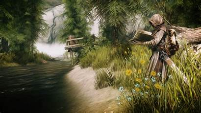 Skyrim Wallpapers Cave 1080 Wallpapercave 1920 Reading