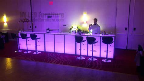 light up bar led light up bar rental ny led furniture