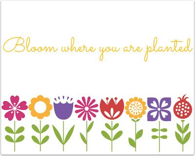 """♥ bloom where you're planted and happiness will follow. A Very """"Springy"""" Featuring YOU! {04}"""