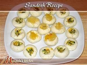 Sandesh (Bengali Sweet) Recipe by Manjula YouTube