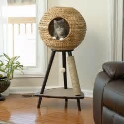 Vig Furniture Inc by Cat Furniture Modern Cat Furniture Tower Medium Cork