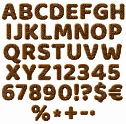 Font Cookies Choco Delicious Cookie Fonts Happy