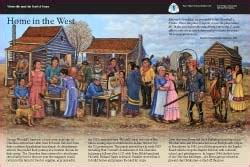dispersal camps exhibits trail  tears national
