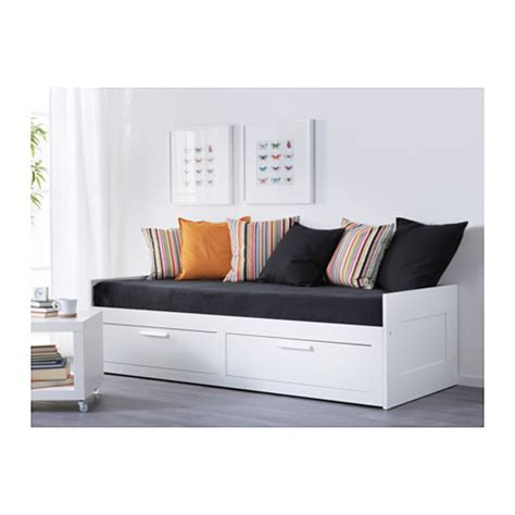 Lit Banquette Ikea Blanc by Brimnes Day Bed Frame With 2 Drawers White 80x200 Cm Ikea
