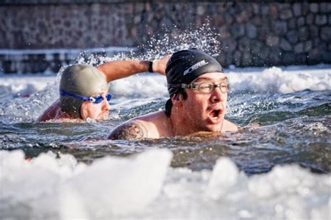 Ziemas peldēšana iesācējiem   Sportland Magazine