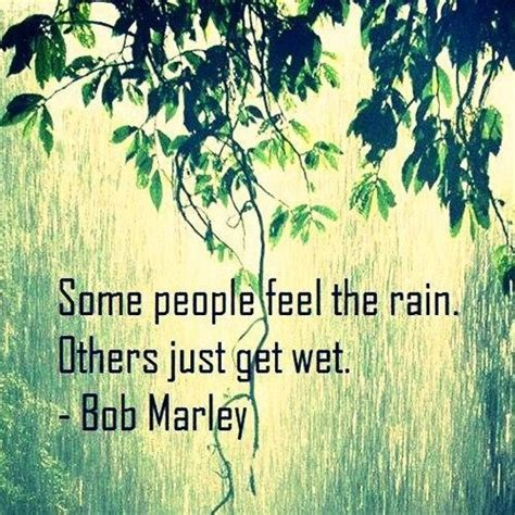 people feel  rain picture quotes image sayings