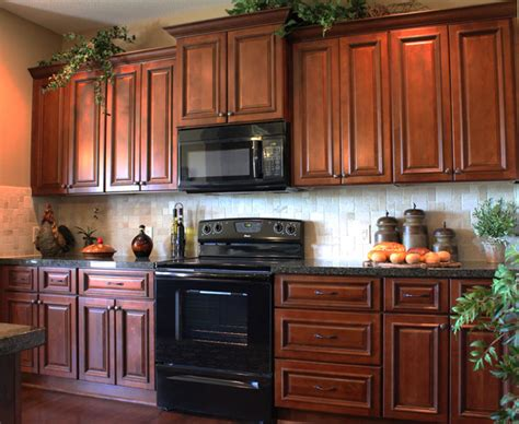 kitchen cabinets with black appliances brindleton maple kitchen cabinets traditional kansas Maple