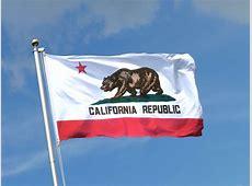 Kalifornien Flagge MaxFlags® bei FlaggenPlatzch
