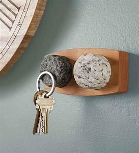 Granite, Stone, Magnetic, Key, Holder