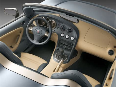 Pontiac Solstice Interior by Funky Ergonomics Awards News Features And
