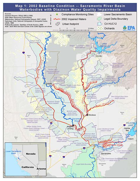 feather sacramento rivers watersheds region  water