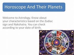 Horoscope and their planets