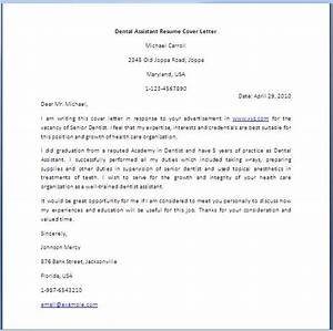 2016 dental assistant cover letter sample writing resume With dental assisting cover letters