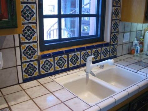 talavera tile kitchen colonial 2 porcelain talavera tile accents 2653