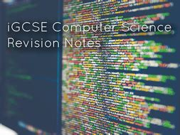 igcse computer science revision notes paper   paper