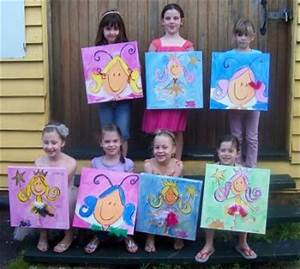 Birthday Art Parties for Kids aged 6 9 years Lilly Lee