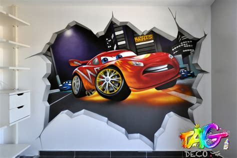 d馗oration chambre cars d 233 co chambre tag