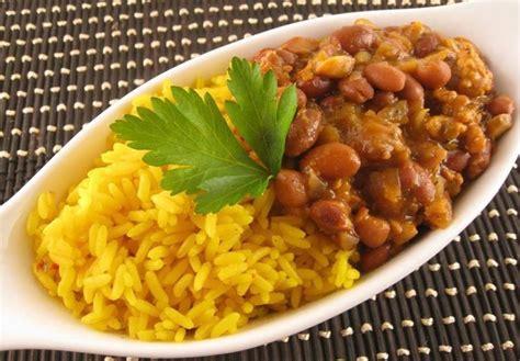 cuisine confo riz et haricots congolese food cooking saveurs