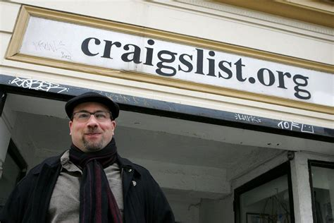 craig newmark founded craigslist to give back now he s a
