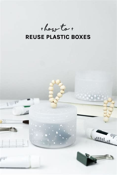 Recycling Und Upcycling Inspirationen by Let S Tidy Up Einfache Upcycling Idee Mit Plastikdosen